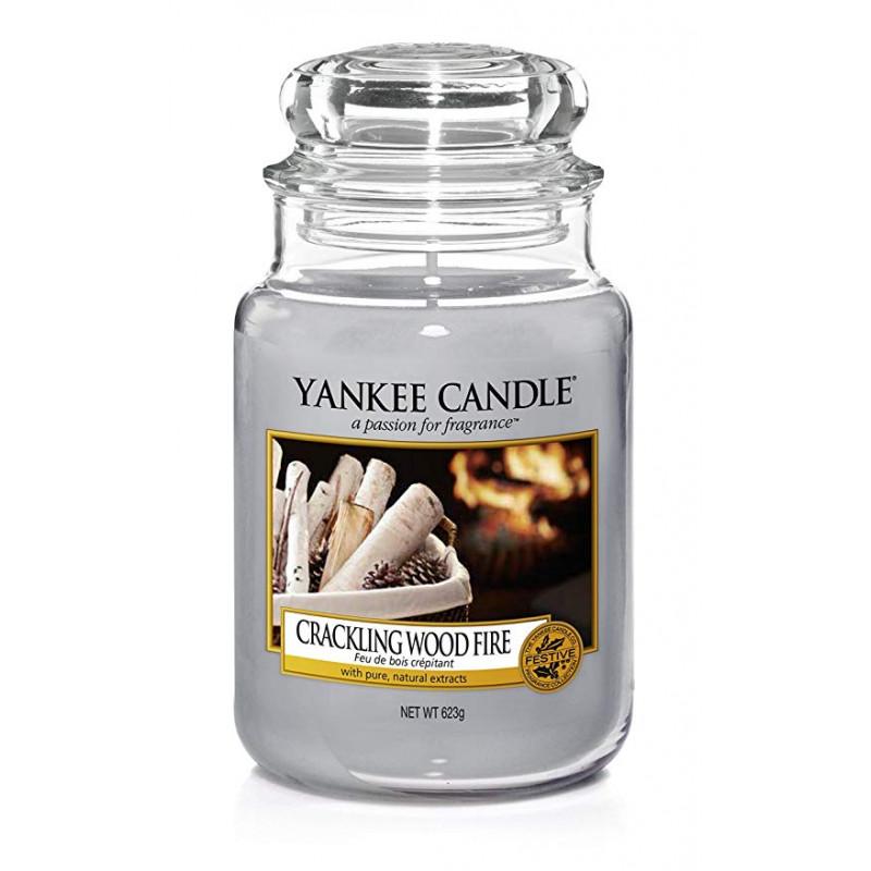 Yankee Candle Yankee Candle Crackling Wood Fire vonná sviečka veľká 623 g