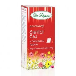 Čistící čaj s červenou řepou 20x1,5 g