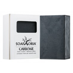 Soaphoria Carbone čistící mýdlo s aktivním uhlím 110 g