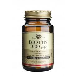 Solgar Biotin 1000 mcg 50 kapslí