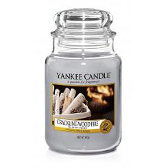 Yankee Candle Crackling Wood Fire vonná sviečka veľká 623 g