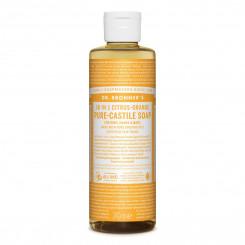 Dr. Bronner's Tekuté univerzálne mydlo ALL-ONE! 18 v 1 citrus-orange 240 ml