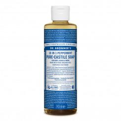 Dr. Bronner's Tekuté univerzálne mydlo ALL-ONE! 18 v 1 Peppermint 240 ml