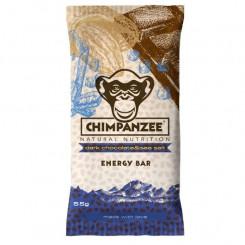 Chimpanzee Energy bar - Dark chocolate & sea salt 55 g