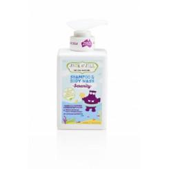 Jack n 'Jill NATURAL Bathtime Sprchový gél a šampón - SERENITY 300 ml