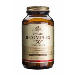 Solgar B-komplex 50, 50 kapslí