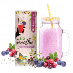Naturalis Smoothie Čučoriedka a Brusnica BIO 180 g