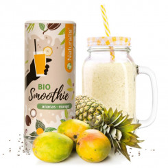 Naturalis Smoothie Ananás a Mango BIO 180 g