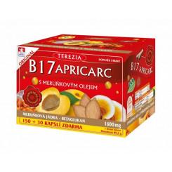 B17 Apricarc s meruňkovým olejem 150+30 kapslí