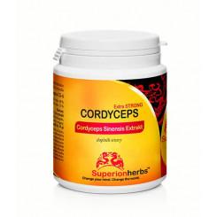 Superionherbs Cordyceps Sinensis Extrakt 90 kapslí