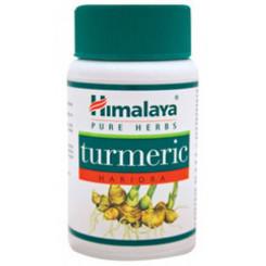 Himalaya Herbals Turmeric - na krvný obeh, pečeň, imunitný systém - antioxidant 60 kapsúl