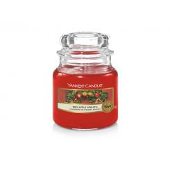 Yankee Candle Red Apple Wreath vonná svíčka malá 104 g
