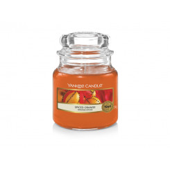 Yankee Candle Spiced Orange vonná svíčka malá 104 g