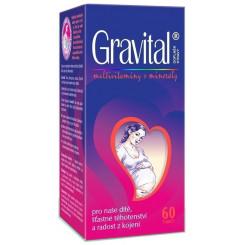 VitaHarmony Gravital - multivitamíny pre tehotné a dojčiace ženy 60 tabliet