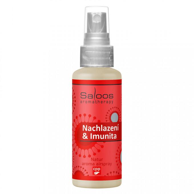 Saloos Natur aróma Airspray - Prechladnutie a Imunita 50 ml