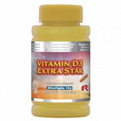 VITAMIN D3 EXTRA STAR 60 tbl.