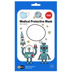 Rúška ústenka MEDICAL 3-vrstvová jednorazová Chlapčenská 10 ks