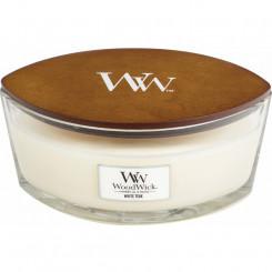 Woodwick White Teak sviečka loď 453.6 g