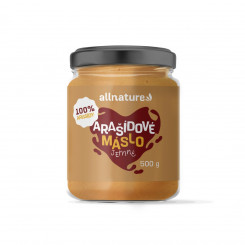 Allnature Arašidové maslo jemné 500 g