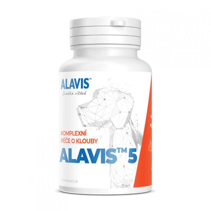 Alavis 5 komplexné kĺbová výživa pre psy a mačky 90 tbl.