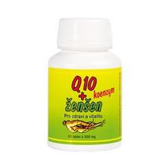 HEMANN Q10 koenzym + ženšen 60 tbl.