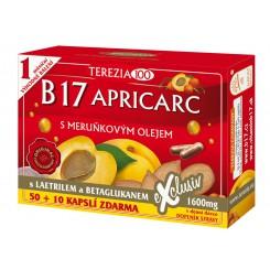 B17 Apricarc s meruňkovým olejem cps. 50+10