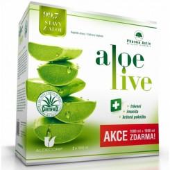 Pharma Activ AloeLive 1000 ml 1+1 zdarma